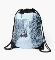 Chair Lift Drawstring Bag