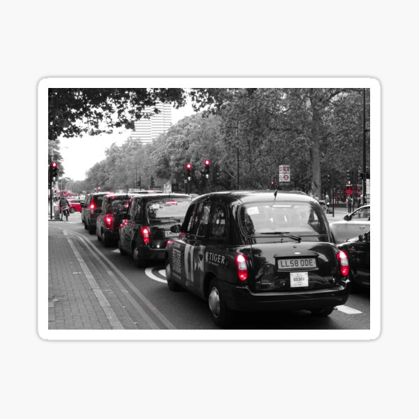 London Taxis - Black cabs Sticker