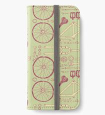 Bicycle Parts iPhone Wallet/Case/Skin