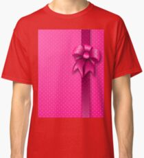 Pink Present Bow Classic T-Shirt