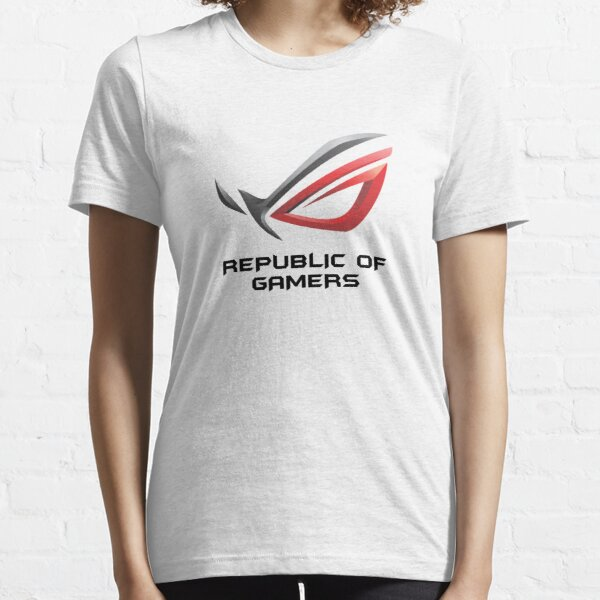 WETTE VERKAUFEN - Asus ROG Republic Of Gamers Essential T-Shirt