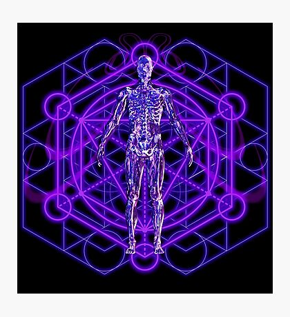 Sacred Geometry and the Human Body Photographic Print