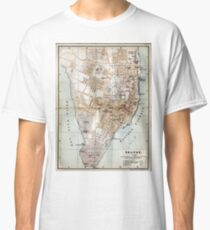 Vintage Map of Halifax Nova Scotia (1890)  Classic T-Shirt