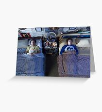 Step Brothers Greeting Card