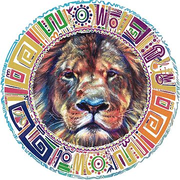 lion Mandala by hasanabbas