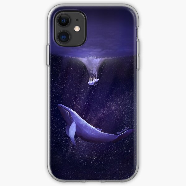 Whale Toss iPhone 11 case