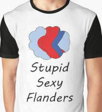 Sexy Flanders, The Simpsons Graphic T-Shirt