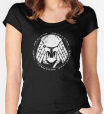 Predator-Bouvetoya Grunge Women's Fitted Scoop T-Shirt