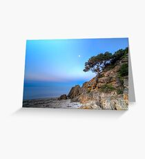 Cliff at Point King, Portsea Greeting Card