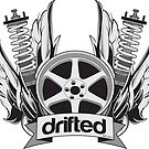 Drifted Crest Sticker by driftedshop