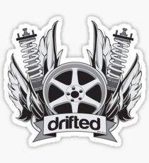 Drifted Crest Sticker Sticker