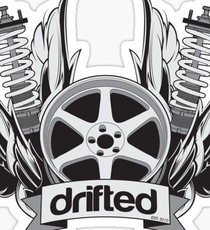 Drifted Crest Sticker Sticker
