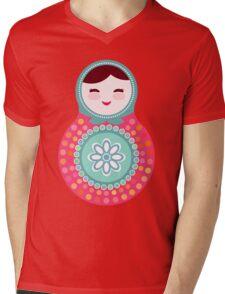 dolls matryoshka Mens V-Neck T-Shirt