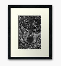 Portrait: Lone Wolf Framed Print