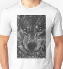 Portrait: Lone Wolf Unisex T-Shirt