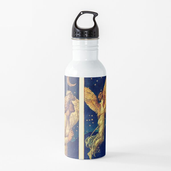 Cupid running away Water Bottle