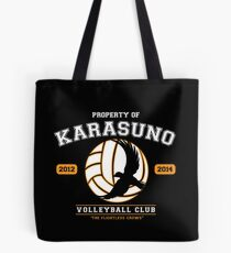 Team Karasuno Tote Bag