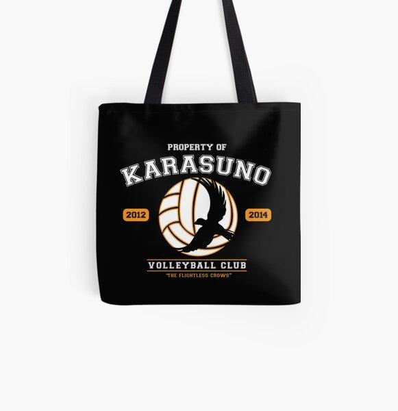 Équipe Karasuno Tote bag doublé