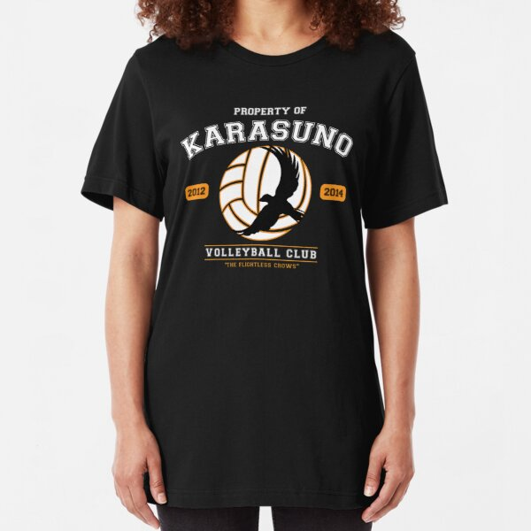 Team Karasuno Slim Fit T-Shirt
