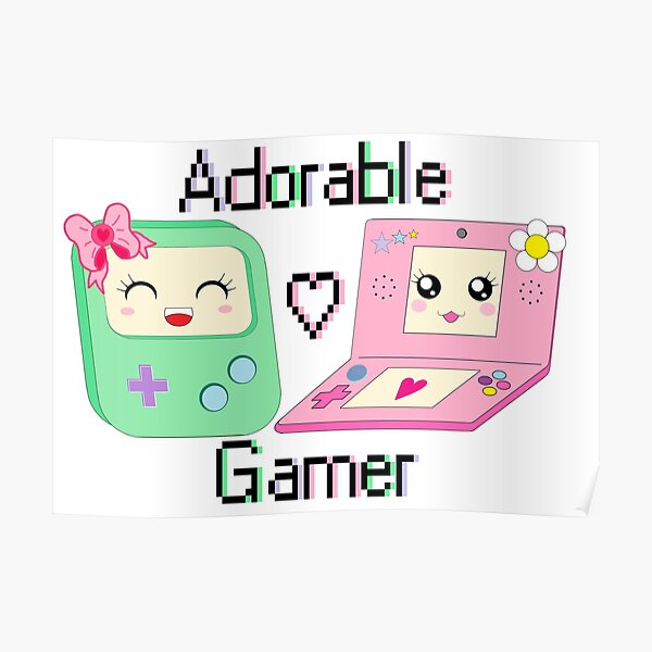 Adorable Gamer ~ Devices Poster