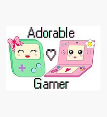 Adorable Gamer ~ Devices Photographic Print