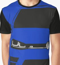 MK7 Golf R Half Cut Graphic T-Shirt