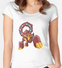 Logain's Volcanion EX (No outline) Women's Fitted Scoop T-Shirt