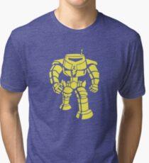 Manbot - Lime Variant Tri-blend T-Shirt