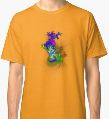 Vase of flowers #fractals Classic T-Shirt