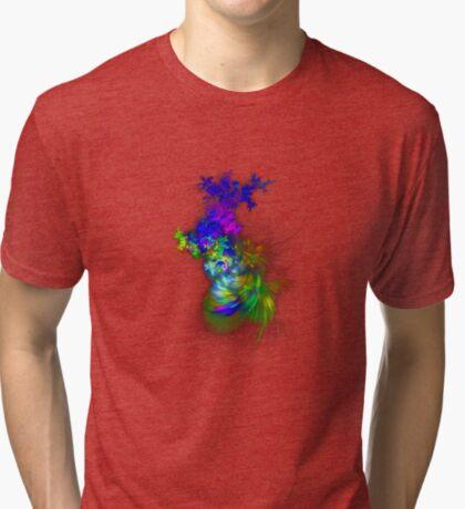Vase of flowers #fractals Tri-blend T-Shirt