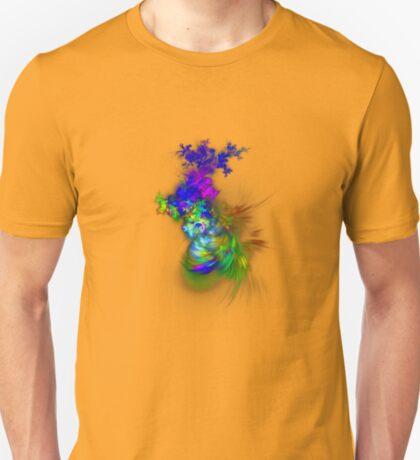 Vase of flowers #fractals T-Shirt