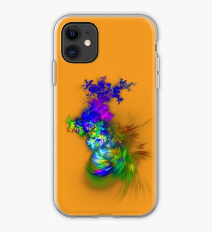Vase of flowers #fractals iPhone Case