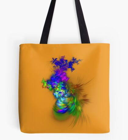 Vase of flowers #fractals Tote Bag
