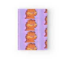 Faded Garfield Hardcover Journal