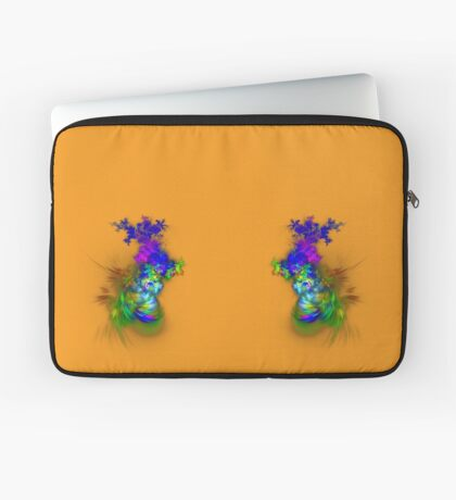 Vase of flowers #fractals Laptop Sleeve