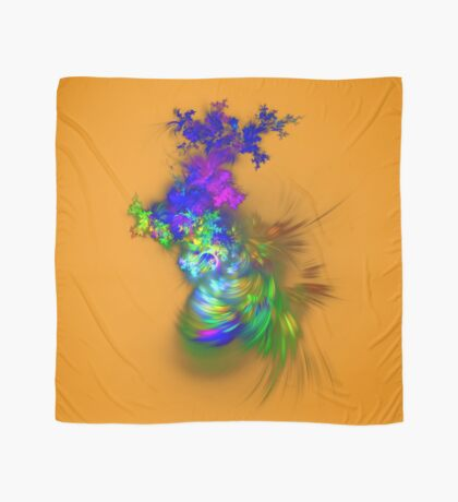 Vase of flowers #fractals Scarf