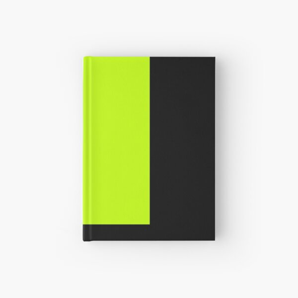 lime solid 12 Hardcover Journal