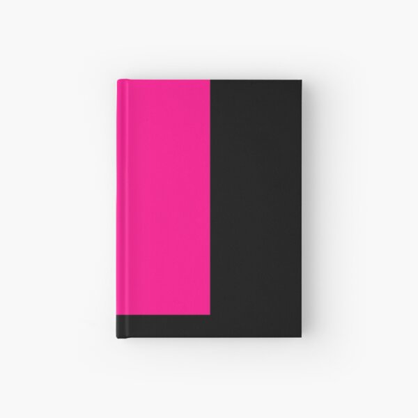 pink solid 12 Hardcover Journal