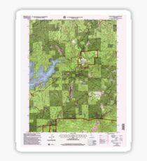 USGS TOPO Map California CA Camptonville 100595 2000 24000 geo Sticker
