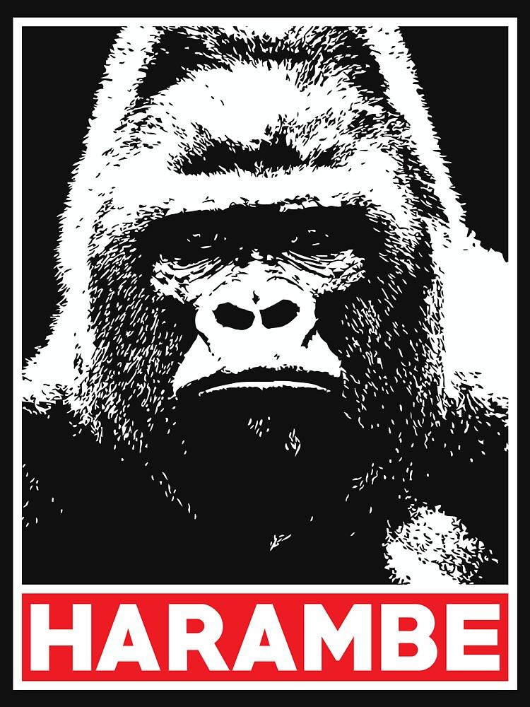 Harambe Gorilla Lover von marcoafsousa