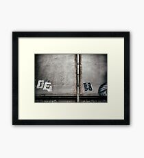 City Grunge 2 Framed Print