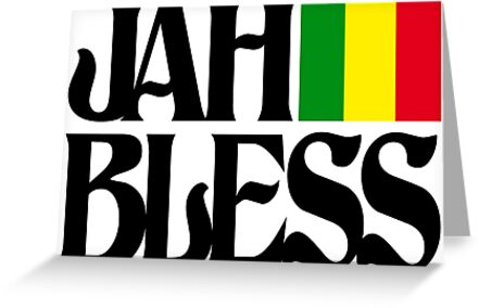 Jah bless greeting cards by extracom redbubble jah bless by extracom m4hsunfo