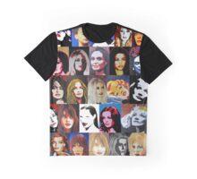 25 wunderbare Frauen als Portrait Graphic T-Shirt