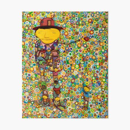 mutual help osgomeos Art Board Print