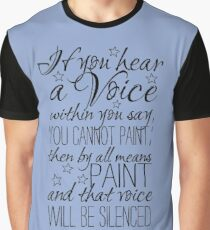 Beautiful quote by Vincent van Gogh Graphic T-Shirt