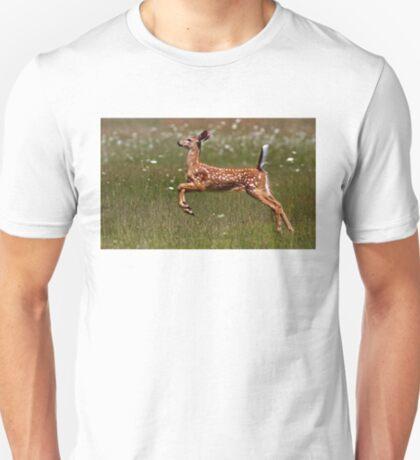 Summer Fawn - White-tailed Deer T-Shirt