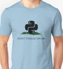 Python Snek - Don't Thread On Me Unisex T-Shirt