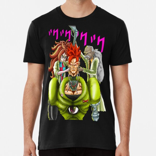 Android 16 and his parents - by Q10Mark T-Shirt Premium T-Shirt