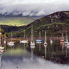 Tighnabruaich sailing club by Geoff Carpenter