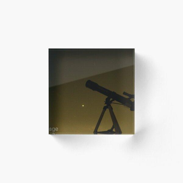 Telescope Acrylic Block